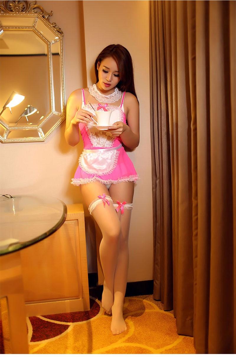 горничная дорогая розовая