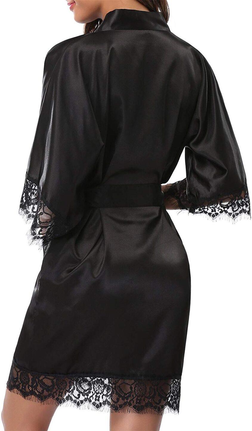 3-халат-один-размер-черный