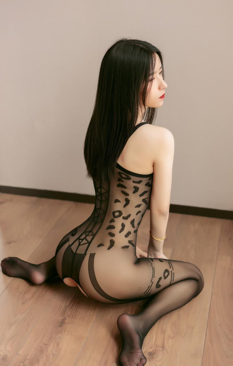 Бодистокинг китаянка леопард 5