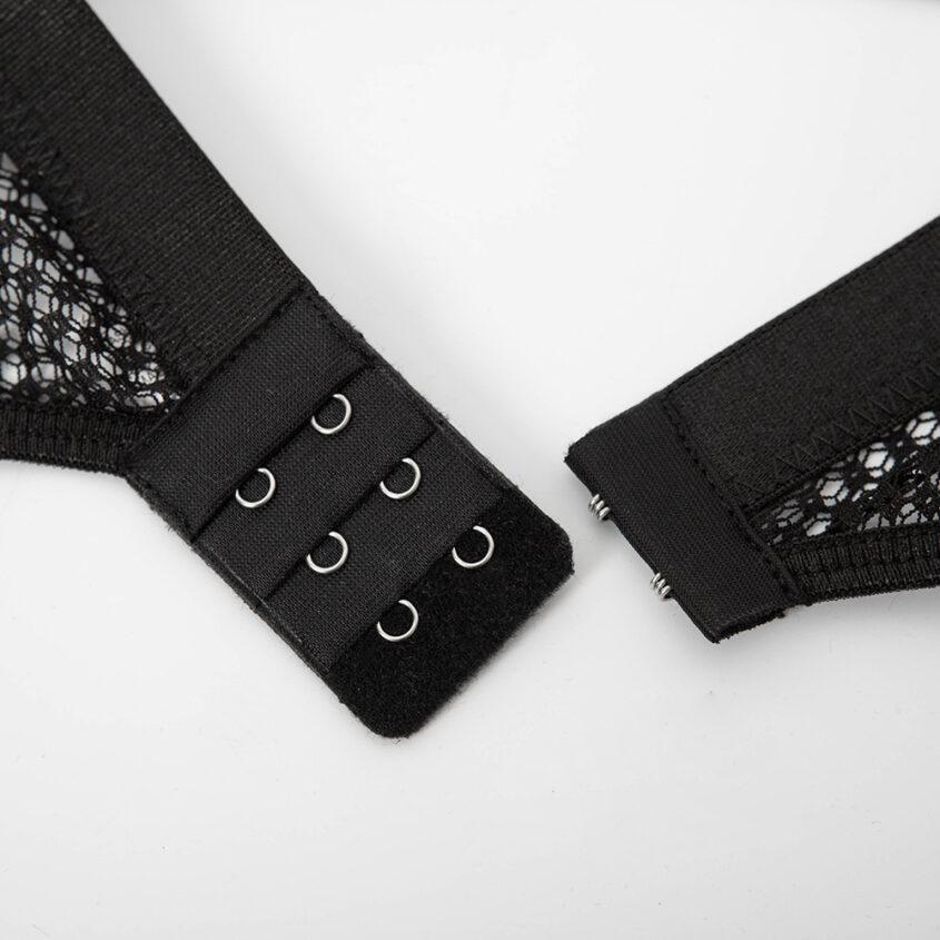 Комплект сетка резинки черный 15