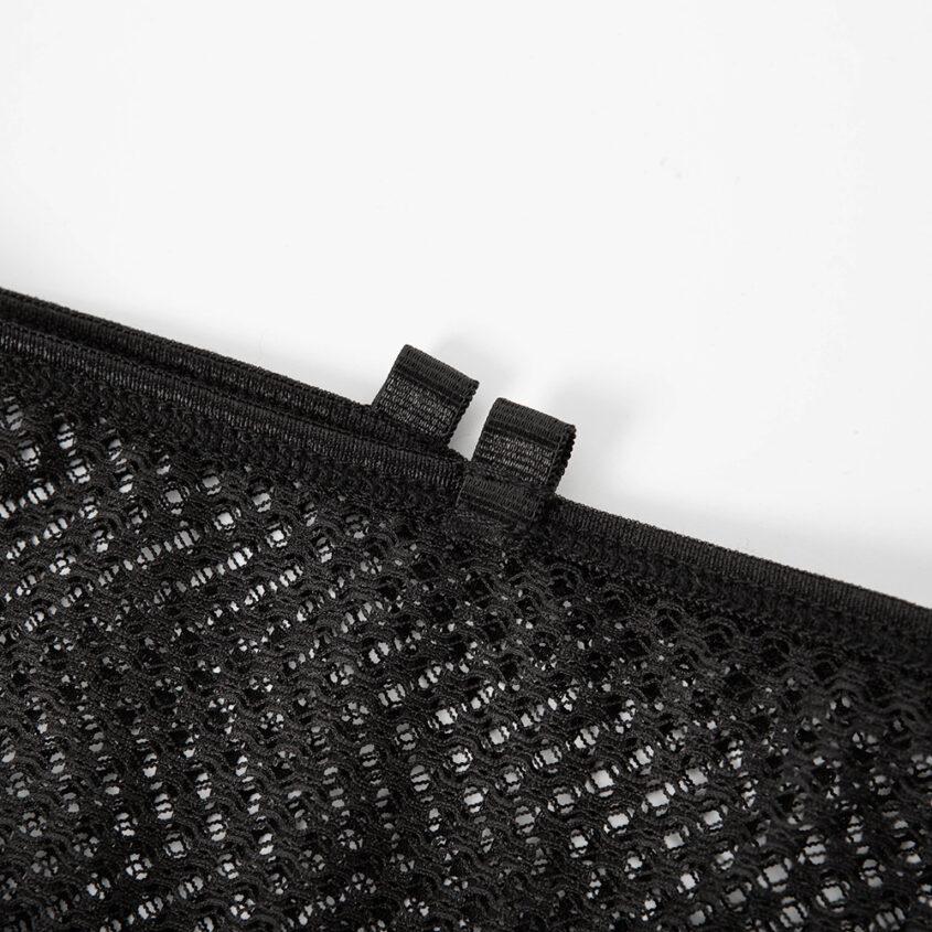 Комплект сетка резинки черный 16