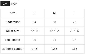 Комплект білий вушка таблиця