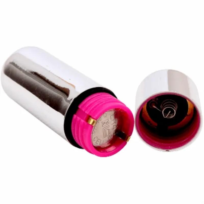 CH13410 Вибропуля серебро Chisa Hi-Basic в пакетике 2