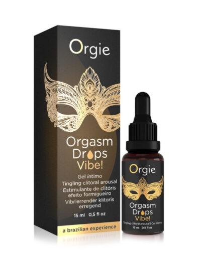 Клиторальные капли с вибрацией Orgie Orgasm Drops Vibe (OR51652)