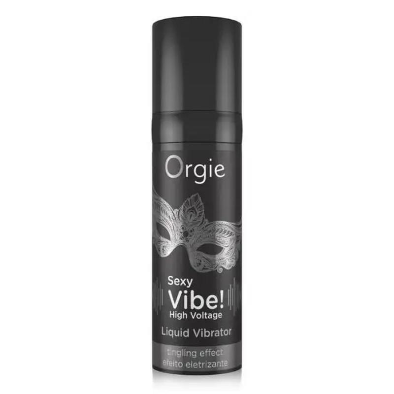 Жидкий вибратор «SEXY VIBE» 15 мл Интенсивность вибрации сильная Orgie